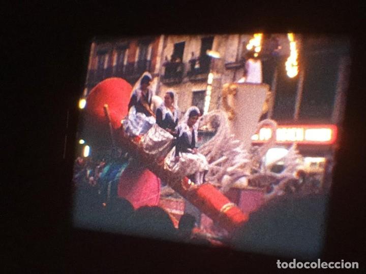Cine: ANTIGUA BOBINA DE PELÍCULA-FILMACIONES AMATEUR-FOGUERES-SANT JOAN (1971) SUPER 8 MM, RETRO FILM - Foto 151 - 213359967