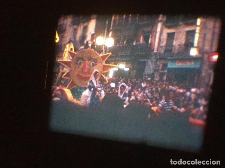 Cine: ANTIGUA BOBINA DE PELÍCULA-FILMACIONES AMATEUR-FOGUERES-SANT JOAN (1971) SUPER 8 MM, RETRO FILM - Foto 153 - 213359967