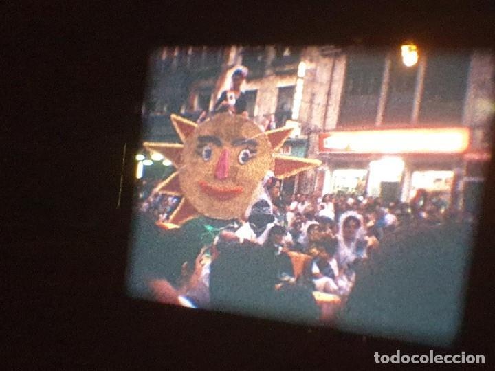 Cine: ANTIGUA BOBINA DE PELÍCULA-FILMACIONES AMATEUR-FOGUERES-SANT JOAN (1971) SUPER 8 MM, RETRO FILM - Foto 154 - 213359967
