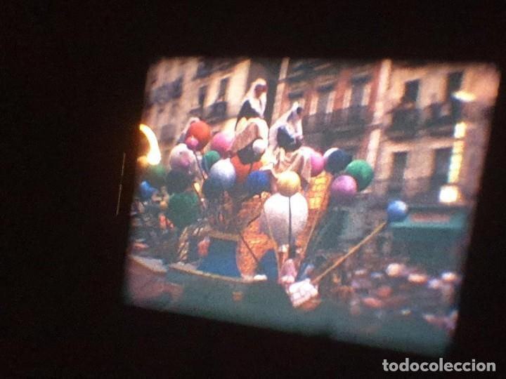 Cine: ANTIGUA BOBINA DE PELÍCULA-FILMACIONES AMATEUR-FOGUERES-SANT JOAN (1971) SUPER 8 MM, RETRO FILM - Foto 156 - 213359967