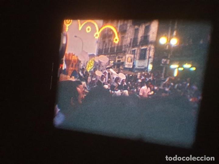 Cine: ANTIGUA BOBINA DE PELÍCULA-FILMACIONES AMATEUR-FOGUERES-SANT JOAN (1971) SUPER 8 MM, RETRO FILM - Foto 157 - 213359967