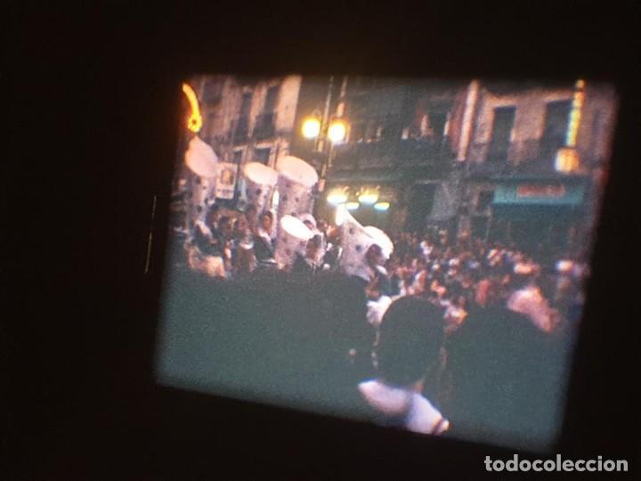 Cine: ANTIGUA BOBINA DE PELÍCULA-FILMACIONES AMATEUR-FOGUERES-SANT JOAN (1971) SUPER 8 MM, RETRO FILM - Foto 158 - 213359967