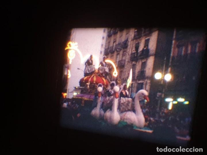 Cine: ANTIGUA BOBINA DE PELÍCULA-FILMACIONES AMATEUR-FOGUERES-SANT JOAN (1971) SUPER 8 MM, RETRO FILM - Foto 159 - 213359967