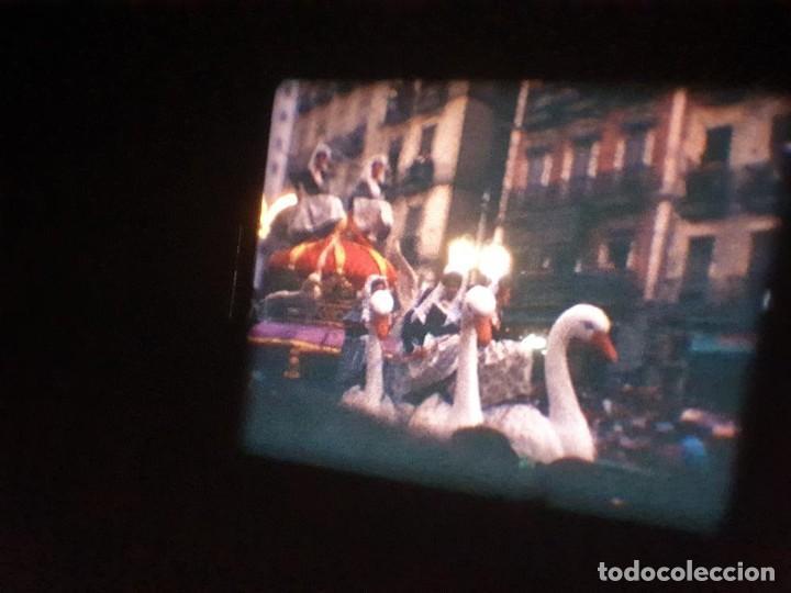 Cine: ANTIGUA BOBINA DE PELÍCULA-FILMACIONES AMATEUR-FOGUERES-SANT JOAN (1971) SUPER 8 MM, RETRO FILM - Foto 160 - 213359967