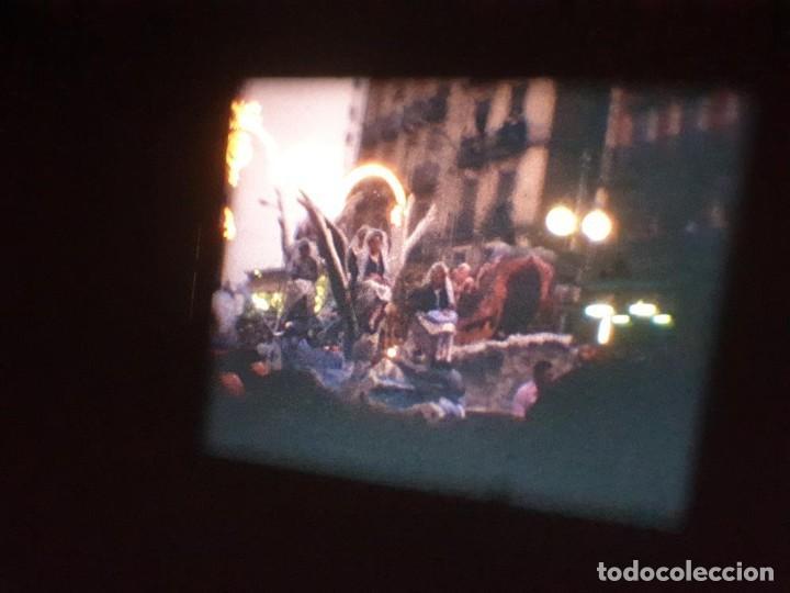 Cine: ANTIGUA BOBINA DE PELÍCULA-FILMACIONES AMATEUR-FOGUERES-SANT JOAN (1971) SUPER 8 MM, RETRO FILM - Foto 162 - 213359967