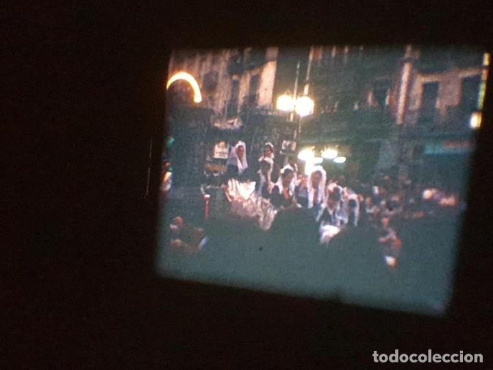 Cine: ANTIGUA BOBINA DE PELÍCULA-FILMACIONES AMATEUR-FOGUERES-SANT JOAN (1971) SUPER 8 MM, RETRO FILM - Foto 165 - 213359967