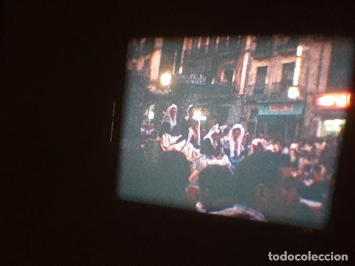 Cine: ANTIGUA BOBINA DE PELÍCULA-FILMACIONES AMATEUR-FOGUERES-SANT JOAN (1971) SUPER 8 MM, RETRO FILM - Foto 166 - 213359967