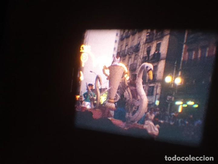 Cine: ANTIGUA BOBINA DE PELÍCULA-FILMACIONES AMATEUR-FOGUERES-SANT JOAN (1971) SUPER 8 MM, RETRO FILM - Foto 167 - 213359967