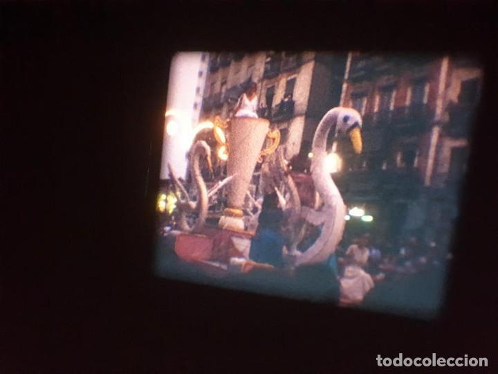 Cine: ANTIGUA BOBINA DE PELÍCULA-FILMACIONES AMATEUR-FOGUERES-SANT JOAN (1971) SUPER 8 MM, RETRO FILM - Foto 168 - 213359967