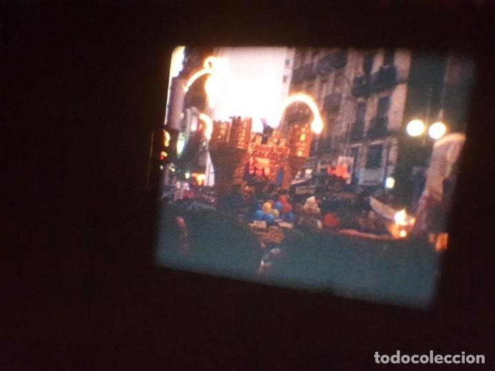 Cine: ANTIGUA BOBINA DE PELÍCULA-FILMACIONES AMATEUR-FOGUERES-SANT JOAN (1971) SUPER 8 MM, RETRO FILM - Foto 172 - 213359967