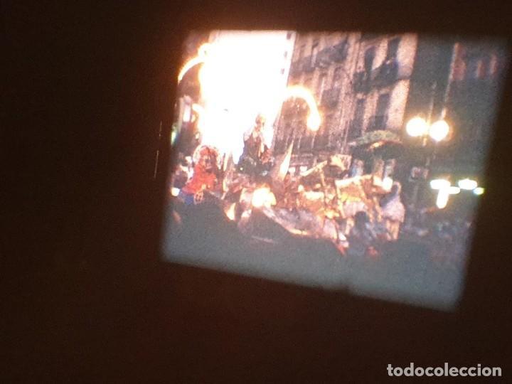 Cine: ANTIGUA BOBINA DE PELÍCULA-FILMACIONES AMATEUR-FOGUERES-SANT JOAN (1971) SUPER 8 MM, RETRO FILM - Foto 174 - 213359967