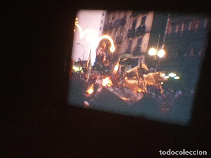 Cine: ANTIGUA BOBINA DE PELÍCULA-FILMACIONES AMATEUR-FOGUERES-SANT JOAN (1971) SUPER 8 MM, RETRO FILM - Foto 175 - 213359967