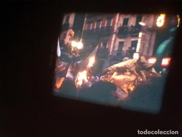 Cine: ANTIGUA BOBINA DE PELÍCULA-FILMACIONES AMATEUR-FOGUERES-SANT JOAN (1971) SUPER 8 MM, RETRO FILM - Foto 177 - 213359967