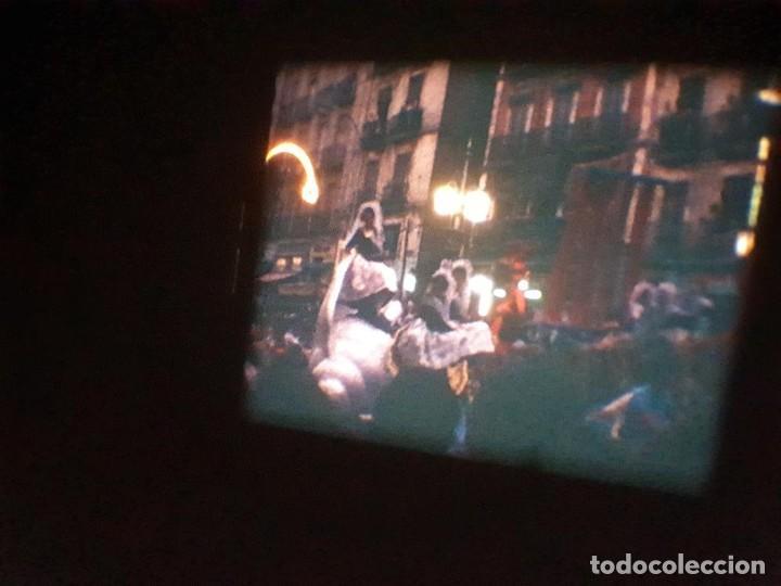 Cine: ANTIGUA BOBINA DE PELÍCULA-FILMACIONES AMATEUR-FOGUERES-SANT JOAN (1971) SUPER 8 MM, RETRO FILM - Foto 178 - 213359967