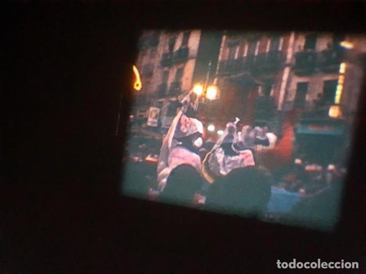 Cine: ANTIGUA BOBINA DE PELÍCULA-FILMACIONES AMATEUR-FOGUERES-SANT JOAN (1971) SUPER 8 MM, RETRO FILM - Foto 179 - 213359967