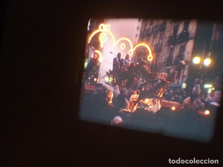 Cine: ANTIGUA BOBINA DE PELÍCULA-FILMACIONES AMATEUR-FOGUERES-SANT JOAN (1971) SUPER 8 MM, RETRO FILM - Foto 180 - 213359967