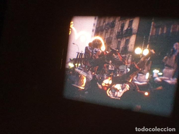 Cine: ANTIGUA BOBINA DE PELÍCULA-FILMACIONES AMATEUR-FOGUERES-SANT JOAN (1971) SUPER 8 MM, RETRO FILM - Foto 181 - 213359967