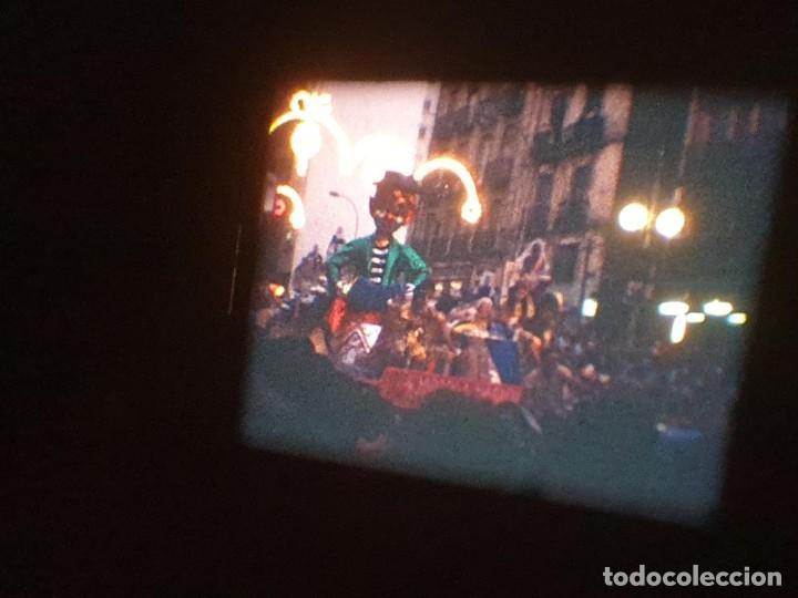 Cine: ANTIGUA BOBINA DE PELÍCULA-FILMACIONES AMATEUR-FOGUERES-SANT JOAN (1971) SUPER 8 MM, RETRO FILM - Foto 182 - 213359967