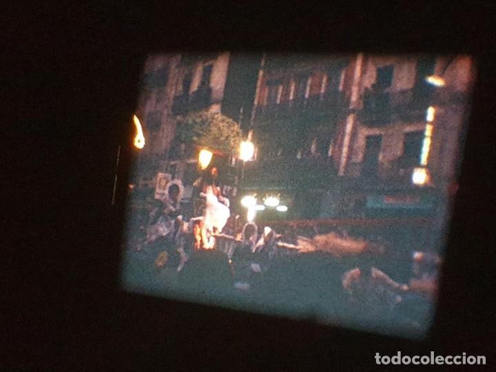 Cine: ANTIGUA BOBINA DE PELÍCULA-FILMACIONES AMATEUR-FOGUERES-SANT JOAN (1971) SUPER 8 MM, RETRO FILM - Foto 187 - 213359967