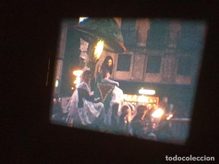 Cine: ANTIGUA BOBINA DE PELÍCULA-FILMACIONES AMATEUR-FOGUERES-SANT JOAN (1971) SUPER 8 MM, RETRO FILM - Foto 188 - 213359967