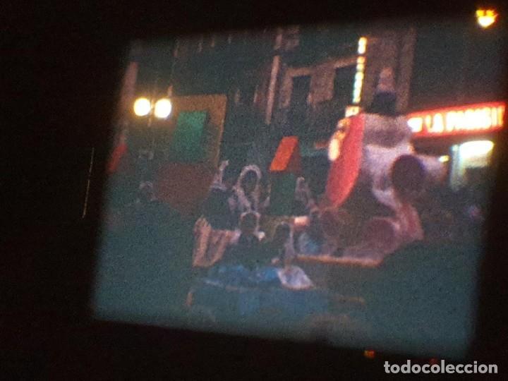 Cine: ANTIGUA BOBINA DE PELÍCULA-FILMACIONES AMATEUR-FOGUERES-SANT JOAN (1971) SUPER 8 MM, RETRO FILM - Foto 190 - 213359967