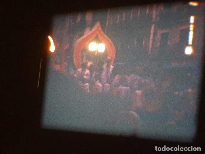 Cine: ANTIGUA BOBINA DE PELÍCULA-FILMACIONES AMATEUR-FOGUERES-SANT JOAN (1971) SUPER 8 MM, RETRO FILM - Foto 193 - 213359967