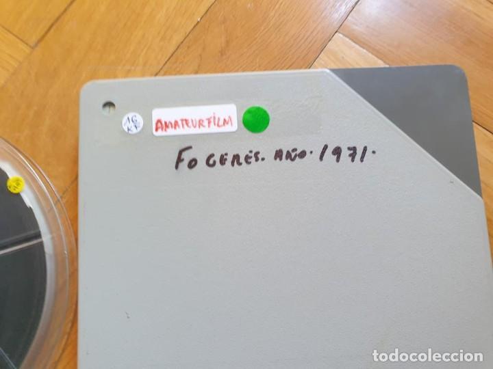 Cine: ANTIGUA BOBINA DE PELÍCULA-FILMACIONES AMATEUR-FOGUERES-SANT JOAN (1971) SUPER 8 MM, RETRO FILM - Foto 197 - 213359967