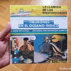 Cine: TIBURONES EN EL OCEANO INDICO-CORTOMETRAJE-DOCUMENTAL-SUPER 8 MM-VINTAGE FILM. Lote 213500826