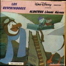 Cine: SUPER 8 ++ LOS RESCATADORES. ALBATROS LINEAS AÉREAS ++ 60 METROS DISNEY NUEVA A ESTRENAR. Lote 214265677