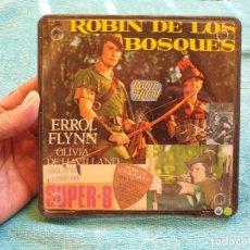 Cine: ROBIN DE LOS BOSQUES (ERROL FLYNN) REDUCCIÓN PELÍCULA SUPER 8 MM 1 X 120 MTS. RETRO VINTAGE. Lote 215745598