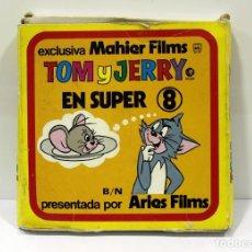 Cine: EL HUERFANITO - TOM Y JERRY - ANTIGUA PELICULA DE SUPER 8MM. CINTA GRANDE.. Lote 216357126