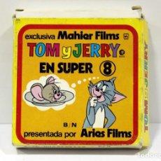 Cine: EL HUERFANITO - TOM Y JERRY - ANTIGUA PELICULA DE SUPER 8MM. CINTA PEQUEÑA.. Lote 216362743