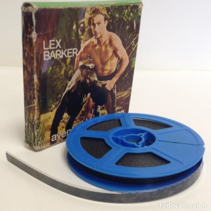 TARZAN: LA FURIA DE LOS ELEFANTES - MUDA - LEX BARKER - JOHNNY WEISSMULLER - SUPER 8MM *ARIES FILMS* (Cine - Películas - Super 8 mm)