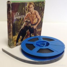 Cine: TARZAN: LA FURIA DE LOS ELEFANTES - MUDA - LEX BARKER - JOHNNY WEISSMULLER - SUPER 8MM *ARIES FILMS*. Lote 216959420