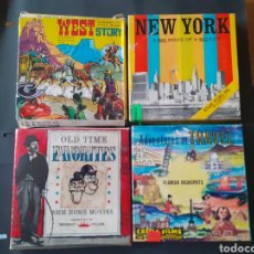 Cine: 4 PELICULAS SUPER 8 WES STORY NEW YORK OLD TIME ADVENTURES IN TRAVEL. Lote 217619516
