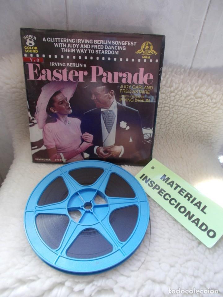 ENVIO CON TC: 4€ EAESTER PARADE 1948 JUDY GARLAN, PELICULA DE CINE SUPER8 COLOR SONORA 120MTS (Cine - Películas - Super 8 mm)