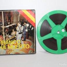 Cine: FRANCO A MUERTO S-8 COLOR Y SONORA - UNA PELICULA REALIZADA POR R.T.V.E.. Lote 217740698
