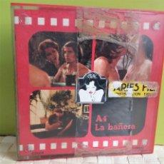 Cine: PELICULA SÚPER 8 COLOR ERÓTICA LA BAÑERA, PSICOSIS SEXUAL, INGENUIDAD Y PERVERSIÓN, VACACIONE EROTI. Lote 218170216