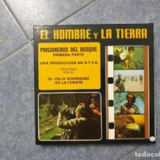 Cine: PRISIONEROS DEL BOSQUE(1ª PARTE) SERIE HOMBRE Y LA TIERRA- CORTO- SUPER 8 MM VINTAGE FILM. Lote 218323486