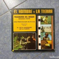 Cine: PRISIONEROS DEL BOSQUE(2ª PARTE) -SERIE HOMBRE Y LA TIERRA-CORTO- SUPER 8 MM-VINTAGE FILM. Lote 218323921