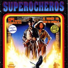 Cinema: SUPER 8: REVISTA SUPEROCHEROS (SUPEREIGHTERS) CINE EN SUPER 8. Lote 218394438
