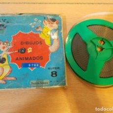 Cine: ENVIO 4€ LAS AVENTURAS DE BOXY EL CANGURO.PELICULA DE CINE SUPER8 SONORA DIBUJOS ANIMADOS.90 METROS. Lote 218693676