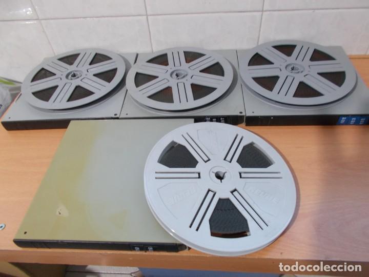 COLOR CLIMAX FILMS ADULTOS AÑOS 70 LOTE 4 PELICULAS CINE SUPER8 COLOR PERFECTO BOBINAS DE 120 METROS (Cine - Películas - Super 8 mm)