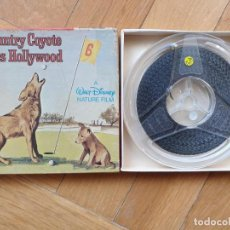 Cine: COUNTRY COYOTE GOES HOLLYWOOD (A WALT DISNEY NATURE FILM) -CORTO-PELÍCULA SUPER 8 MM-VINTAGE. Lote 219646000