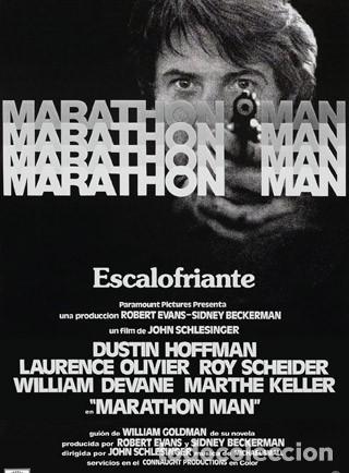 MARATHON MAN - DUSTIN HOFFMAN, LAURENCE OLIVIER, ROY SCHEIDER - LARGOMETRAJE SUPER 8 MM . 5 X 180 M (Cine - Películas - Super 8 mm)
