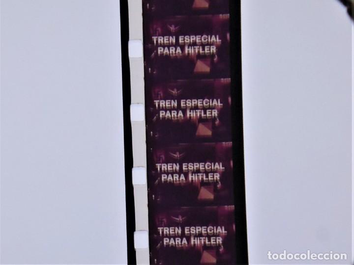 Cine: TREN ESPECIAL PARA HITLER - LARGOMETRAJE SUPER 8 MM - MUY BUEN ESTADO DE PASE Y CUIDADA - Foto 8 - 221245028