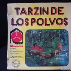 Cine: PELÍCULA SUPER 8 BOB 60M COLOR SONORO EM ESPAÑOL FILMENCAS TARZI DE LOS POLVOS LEER DESCRIPCION. Lote 222152788