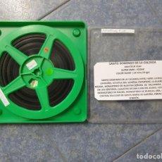 Cine: ANTIGUA BOBINA DE PELÍCULA-FILMACIONES ,AMATEUR -SANTO DOMINGO DE LA CALZADA -1979-SUPER 8 MM. Lote 222244701