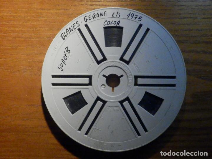 PELÍCULA - SUPER 8 - BLANES, GERONA - COLOR - AÑO 1975 (Cine - Películas - Super 8 mm)