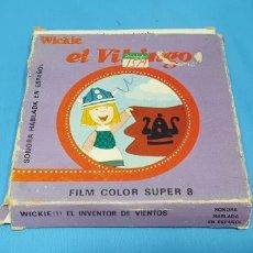 Cine: PELÍCULA SUPER 8 MM - VICKIE EL VIKINGO - WICKIE EL INVENTOR DE VIENTOS - BETA FILMS. Lote 223321366